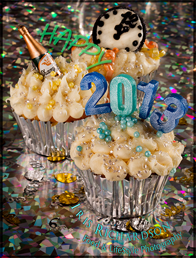New Years Eve Cup Cakes